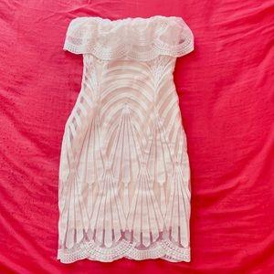 Charlotte Russe Strapless Dress XS